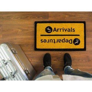 Fisura Doormat 'Arrivals/Departures'