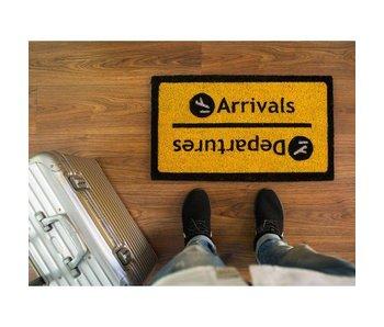 Doormat 'Arrivals/Departures'