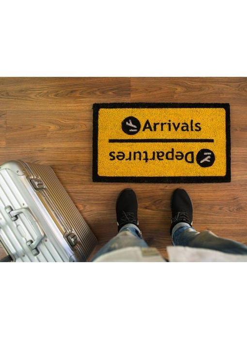 Deurmat 'Arrivals/Departures'