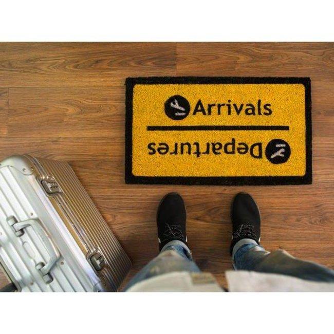 Fußmatte ' Arrivals/Departures'