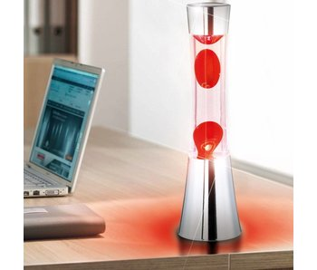 Lava Lamp (chrome/red)