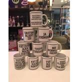Urban Merch Mug 'Nie Normaal Dadde'