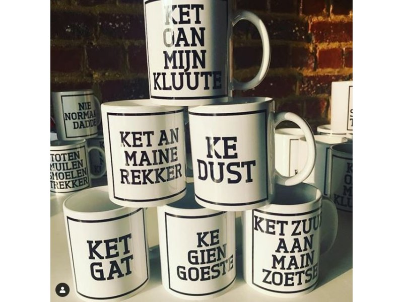 Urban Merch Tasse 'Ket An Maine Rekker'
