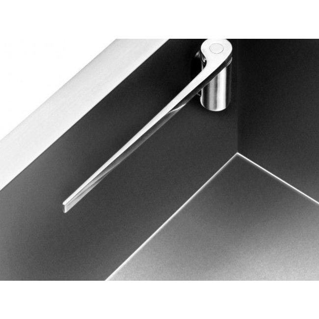 Magisso Porte-Torchon Magnétique - acier - droit