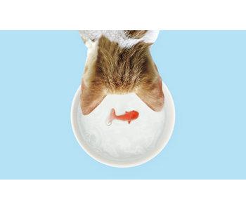 Bol à Boire pour Chat 'Poisson'