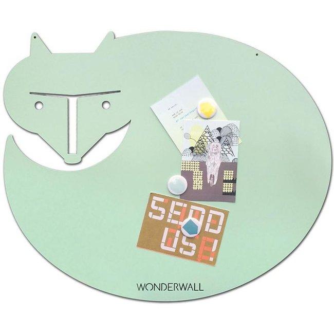 FAB5 Wonderwall Magnetic Board 'Fox' (mint)