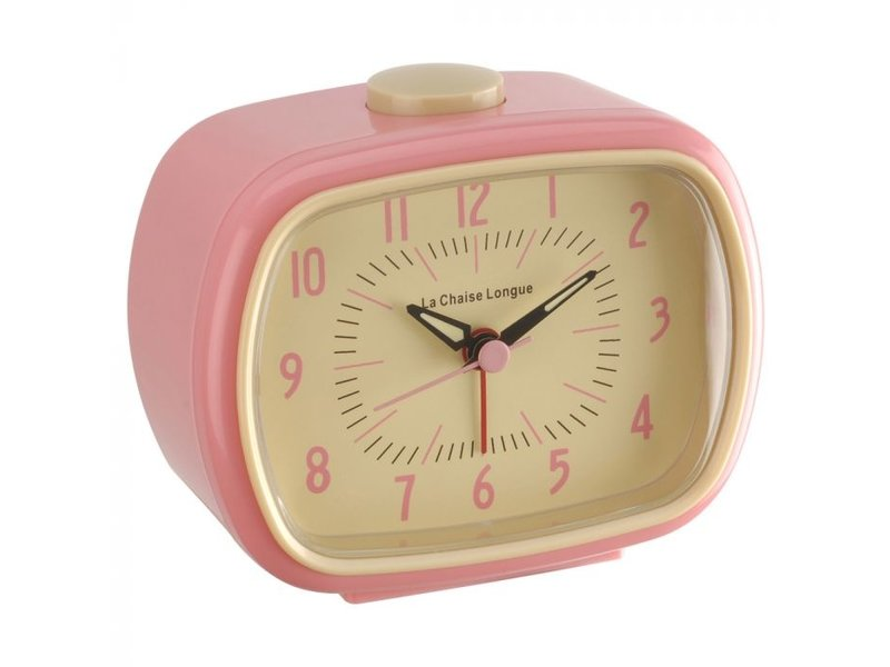 Retro Alarm Clock (pink)