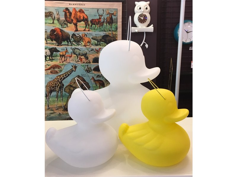 Goodnight Light Duck Duck Lamp (small - white - color changing)