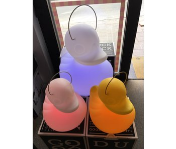 Duck Duck Lamp (small - wit - color changing)