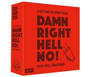 Jeu de Party 'Damn Right Hell No'