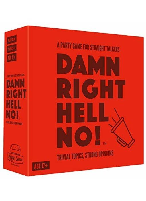 Jeu de Party 'Damn Right Hell No'