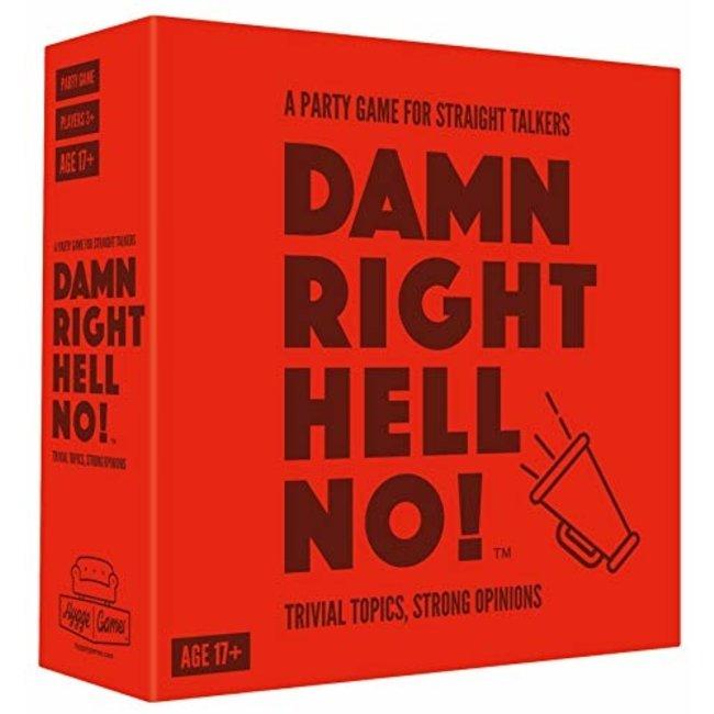 Partyspiel 'Damn Right Hell No'