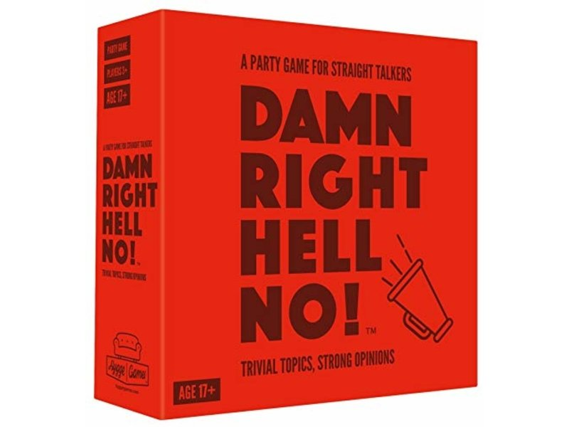 Hygge Games Party Game 'Damn Right Hell No'