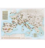 Scratch Map 'Europese Wijnen'