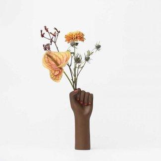 DOIY Vase 'Girl Power' (black, small)
