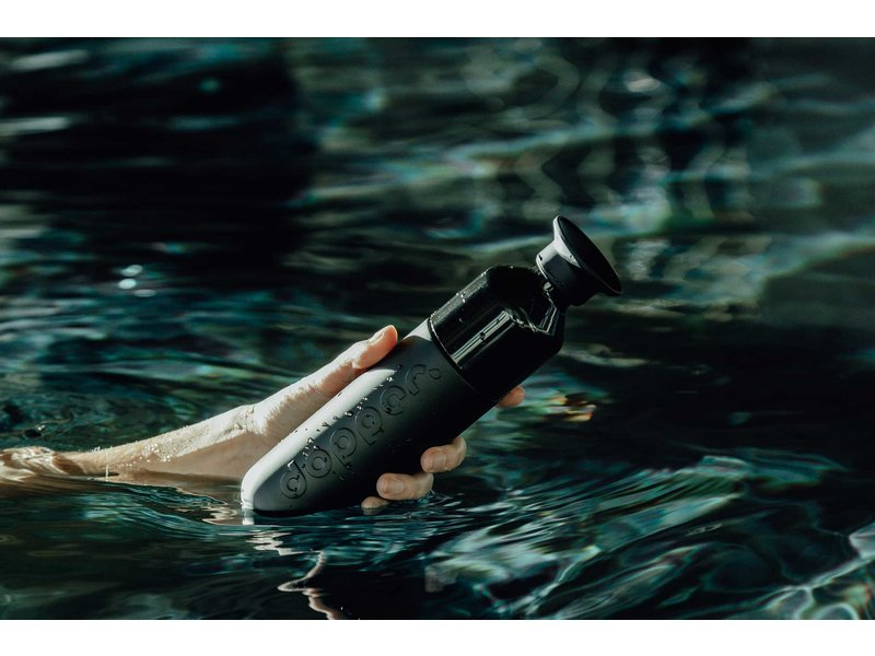 Dopper Thermos / Insulated bottle 'Dopper Insulated 350 ml' (blazing black)