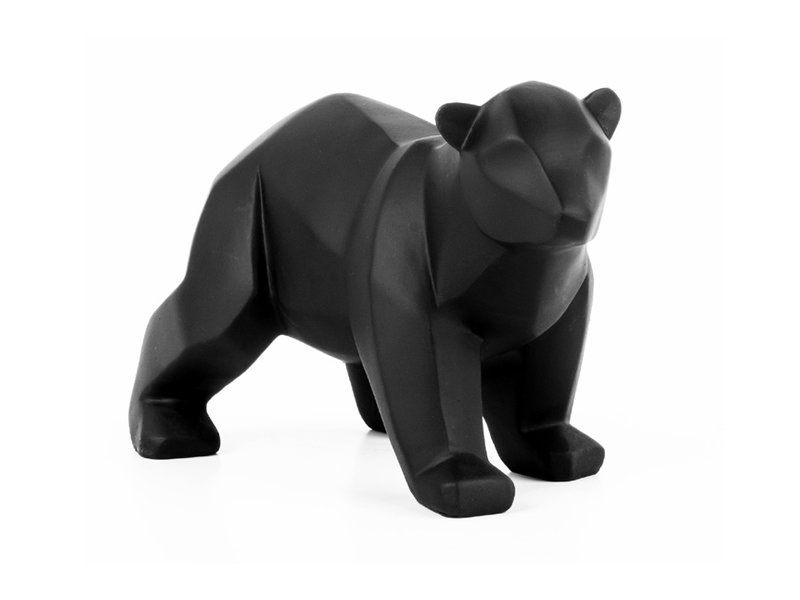 Present Time Origami Statue 'Bear' (small)