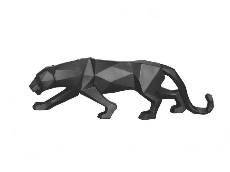 Present Time Origami Statue 'Panther'