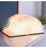 Gingko Gingko Smart Book Light - brown leather - large