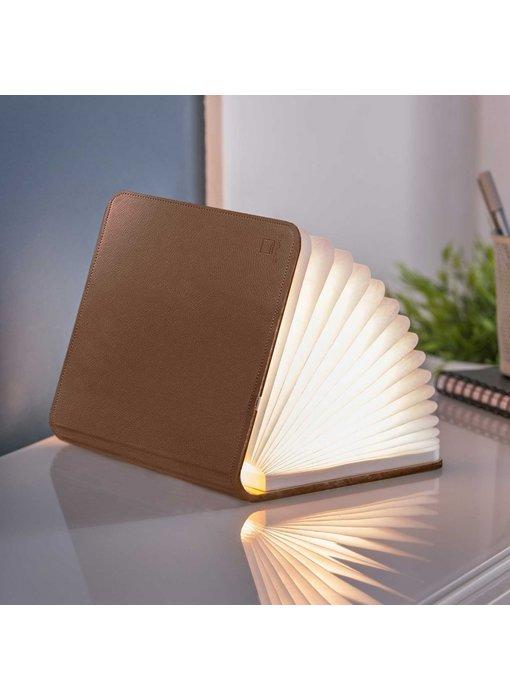 Smart Book Light - cuir brun - grand