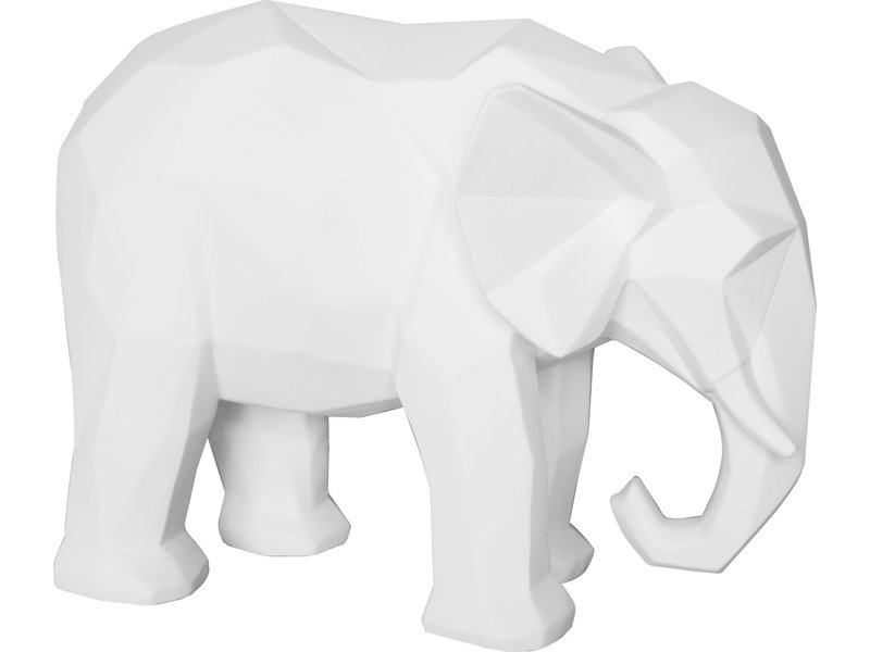 Present Time Statue Origami 'Eléphant'