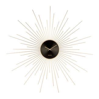 Karlsson Wall Clock  'Extreme Peony XXL'