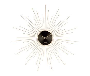 Wall Clock  'Extreme Peony XXL'