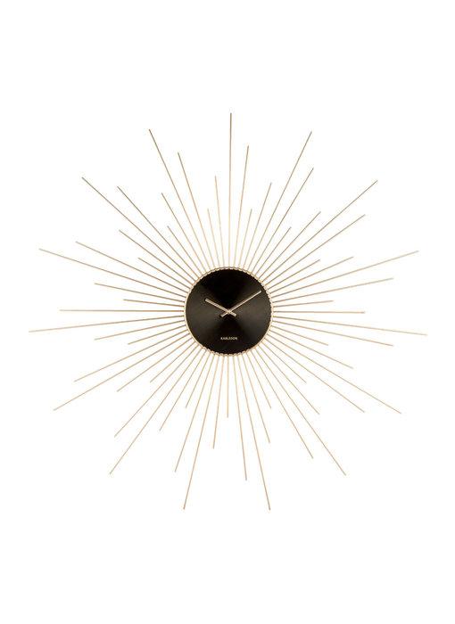 Horloge Murale 'Extreme Peony XXL'