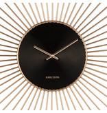 Karlsson Horloge Murale 'Extreme Peony XXL'