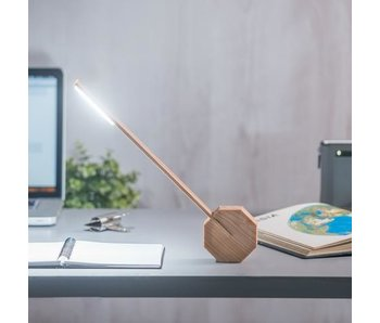 Desk Lamp 'Octagon One' (maple)