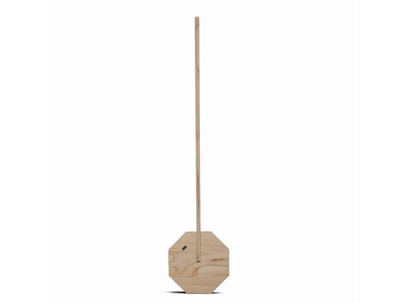 Gingko Desk Lamp 'Octagon One' (maple)