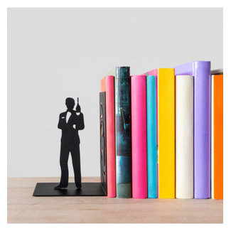 Bookend 'James Bond'