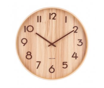Wall Clock 'Pure' (medium)
