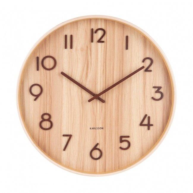 Wall Clock 'Pure' (medium)
