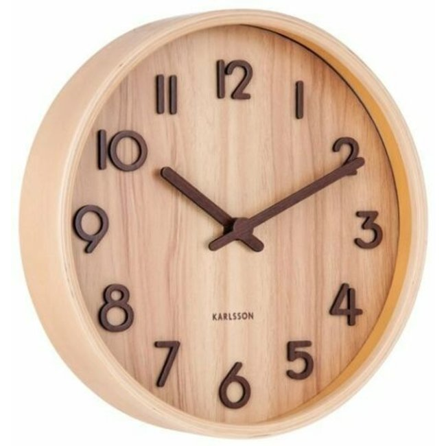 Karlsson Horloge Murale 'Pure' (small)