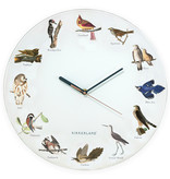 Kikkerland Wall Clock 'Bird Call'