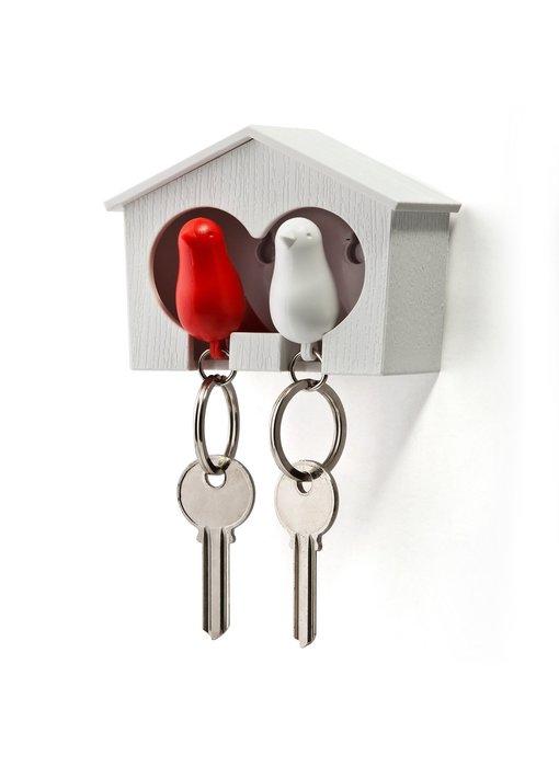 Key Holder + 2 Key Rings 'Sparrow'