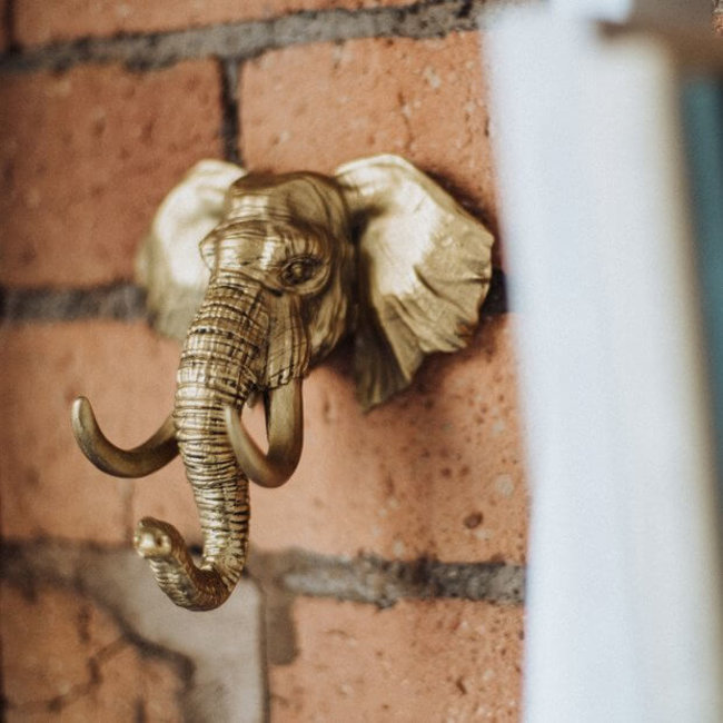 Luckies Porte-Clés à Suspendre 'Eléphant'