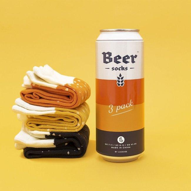 Luckies Beer Socks '3 Pack'