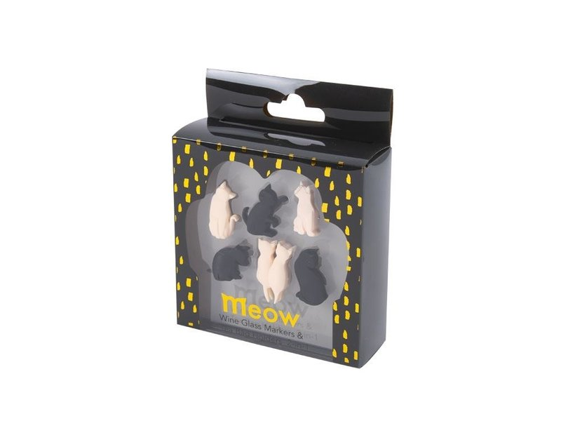 Invotis Glasmarkeerders 'Meow Kat'