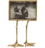 Karé Design Photo Frame Duck Feet - gold - horizontal