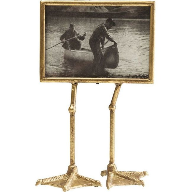 Photo Frame Duck Feet - gold - horizontal