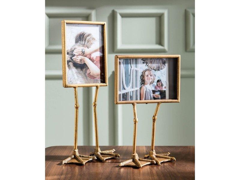 Karé Design Fotokader Eendenpoten - goud - horizontaal