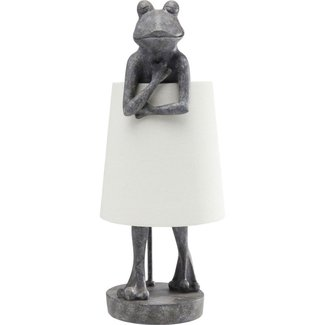Karé Design Table Lamp Animal Grey Frog
