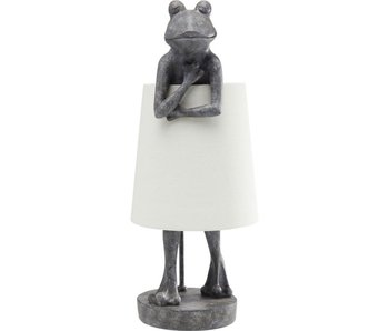 Lampe de Table Animal Grenouille Gris