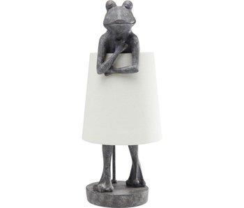 Tafellamp 'Grijze Kikker'