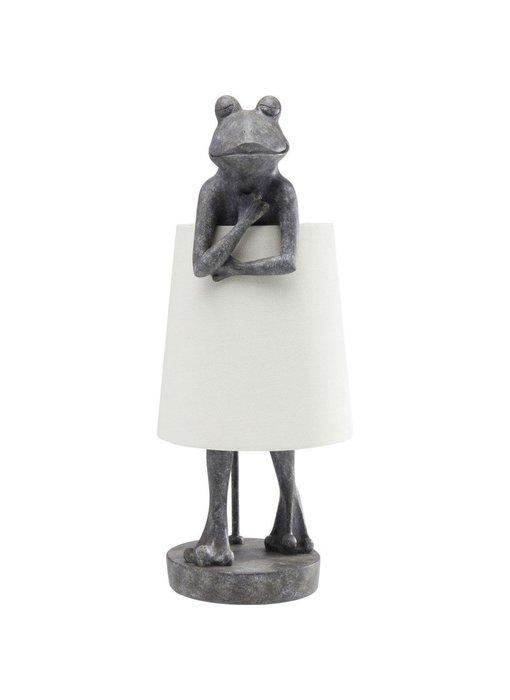 Lampe de Table Animal Grenouille Gris