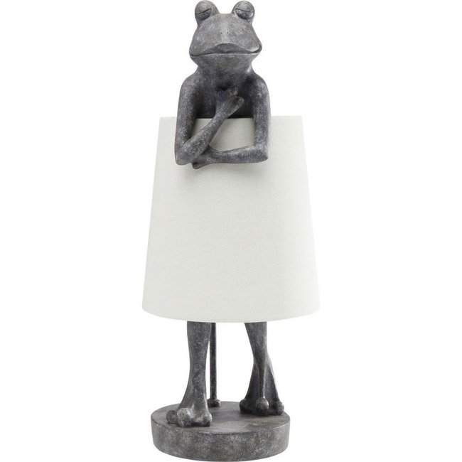 Tafellamp - Dierenlamp Grijze Kikker