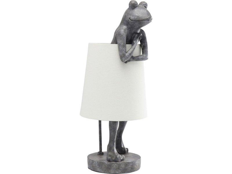 Karé Design Table Lamp Animal Grey Frog