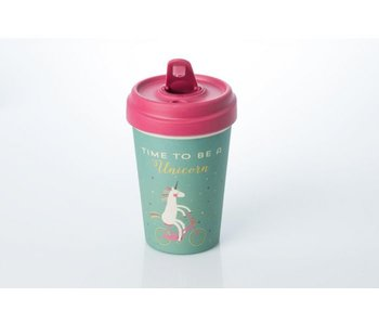 Eco Bamboo Cup 'Time To Be A Unicorn'